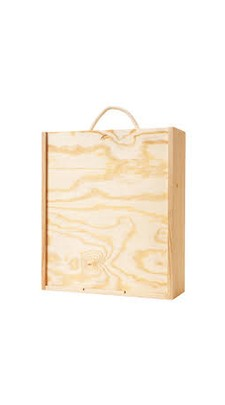3 Bottle Wooden Box Image