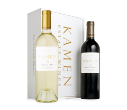 2017 Sauvignon Blanc & 2015 Cabernet in Two-Bottle White Gift Box